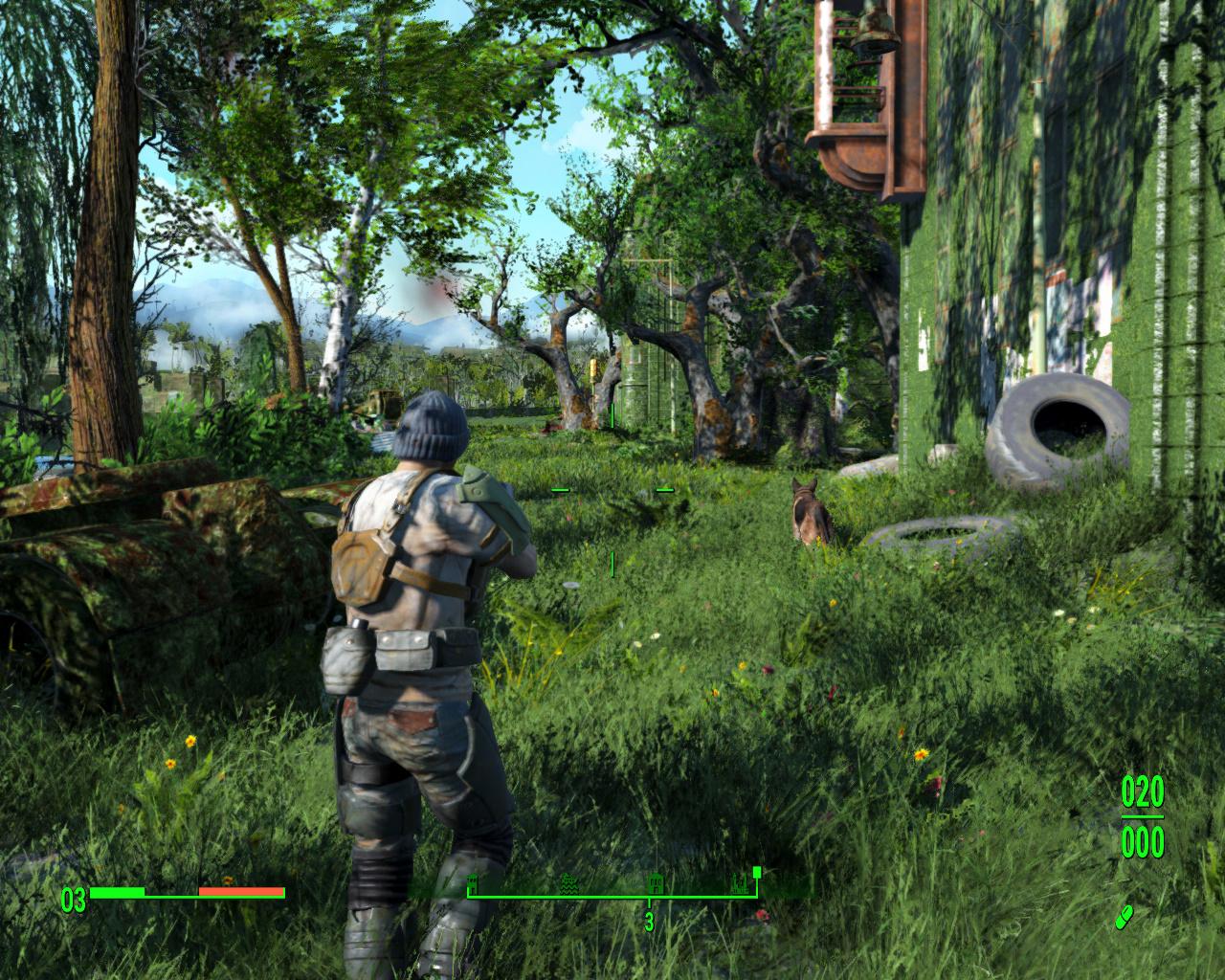 Fallout 4 Mod Brings Greener Grass To Boston VG247