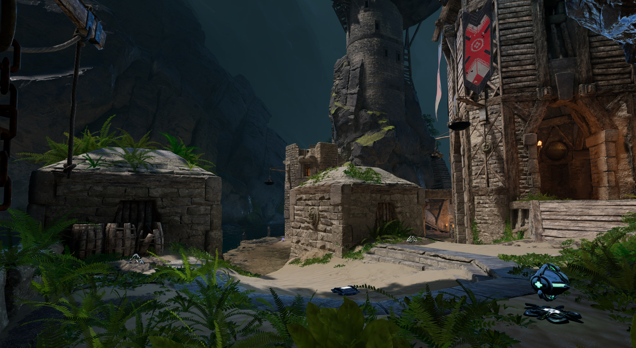 Check Out Unreal Tournament S New Map Underland Vg247