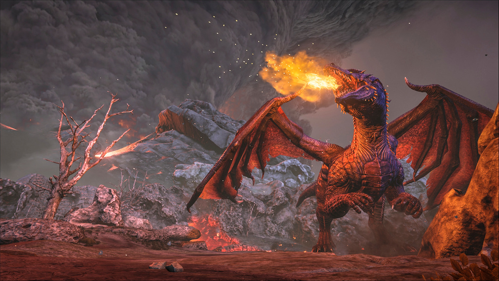 Ark Survival Evolved Update Adds New Creatures Dragon