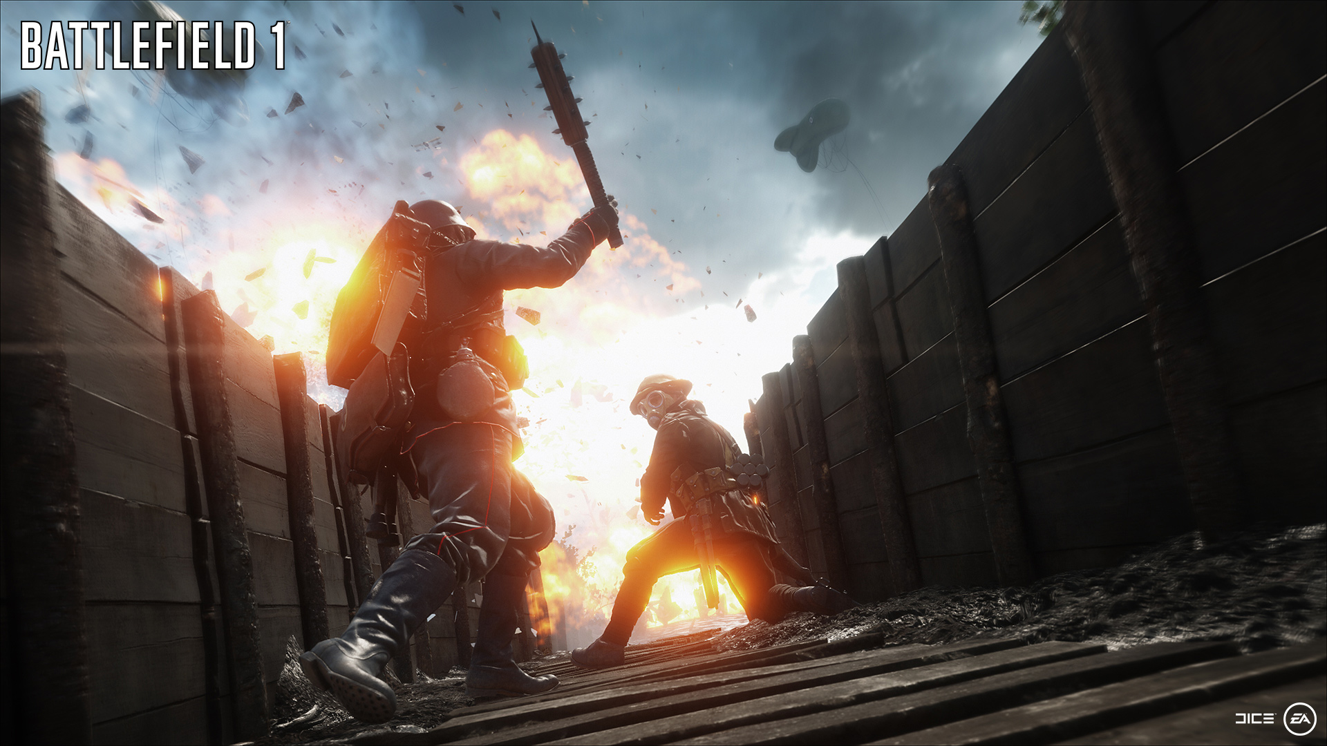 Battlefield 1 Heres An Hour Of 64 Player Multiplayer