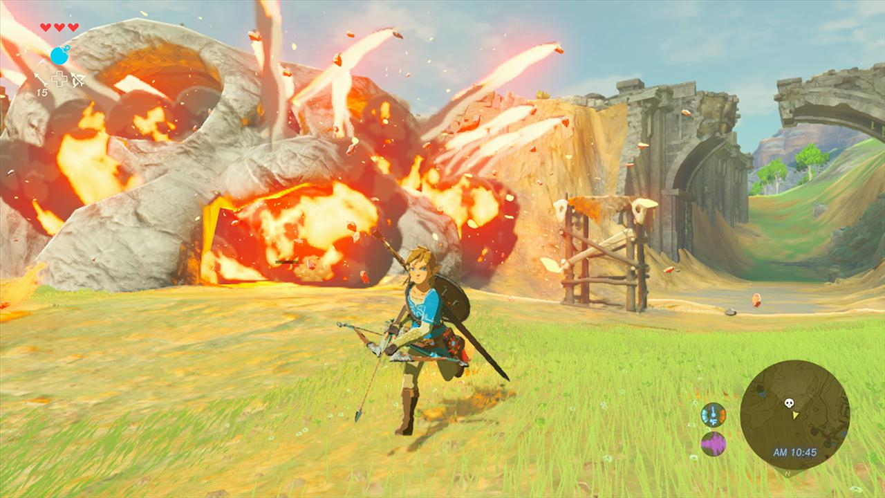 The Legend Of Zelda Breath Of The Wild Zelda Once Under Consideration As Main Character VG247