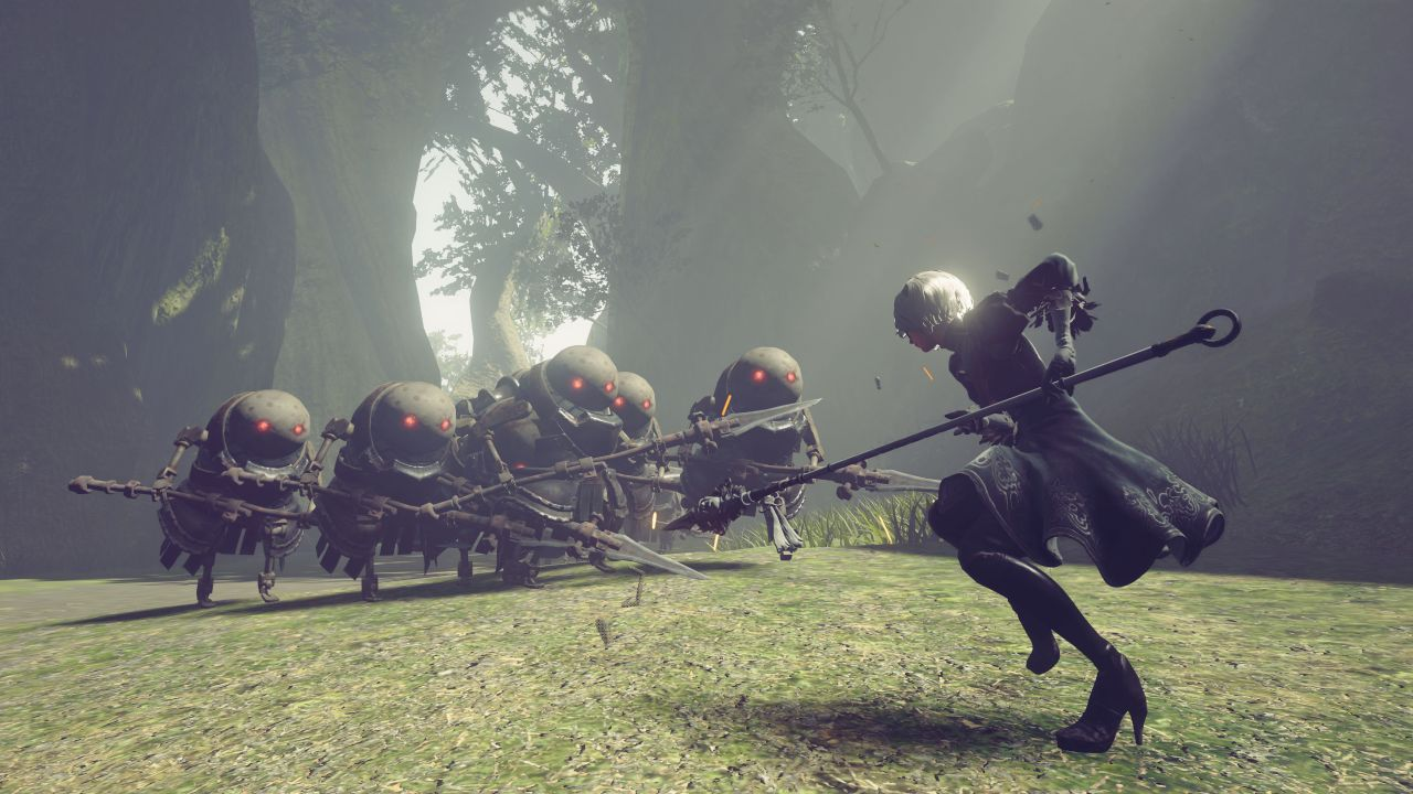 Demo For Nier Automata Will Release On PS4 Christmas Weekend VG247