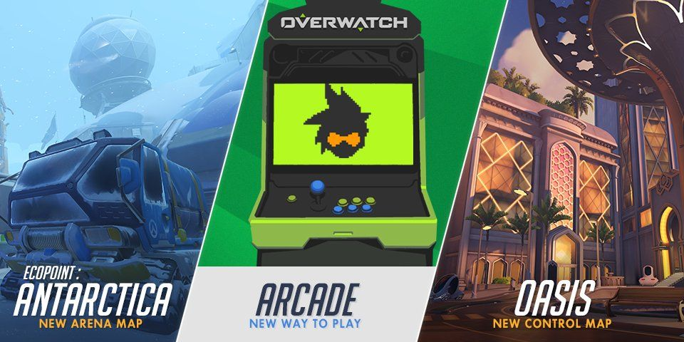 Overwatch Arcade Replaces Weekly Brawls New Modes