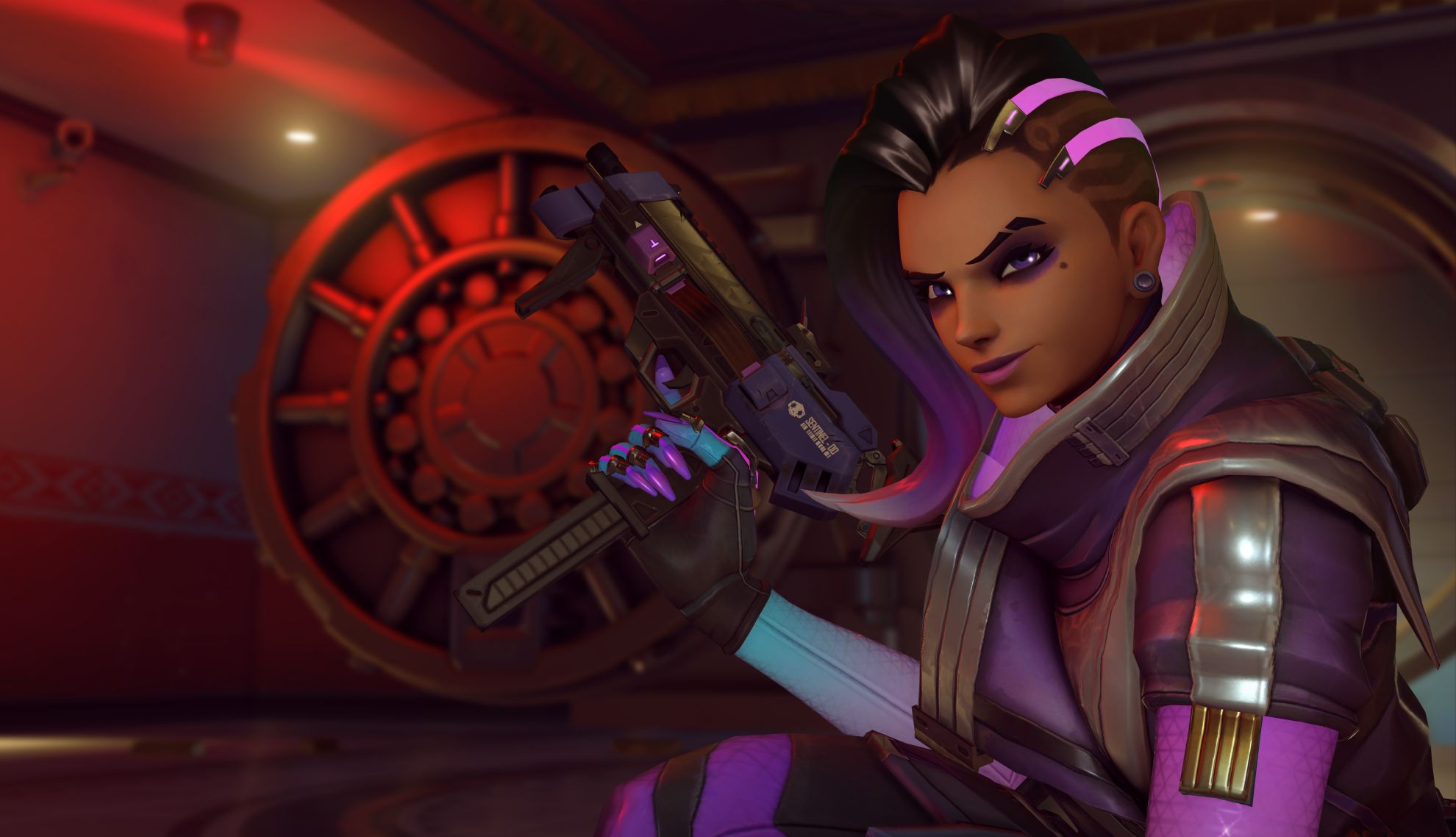 Overwatch What Ultimates And Abilities Sombra Can And Cant Hack And EMP VG247
