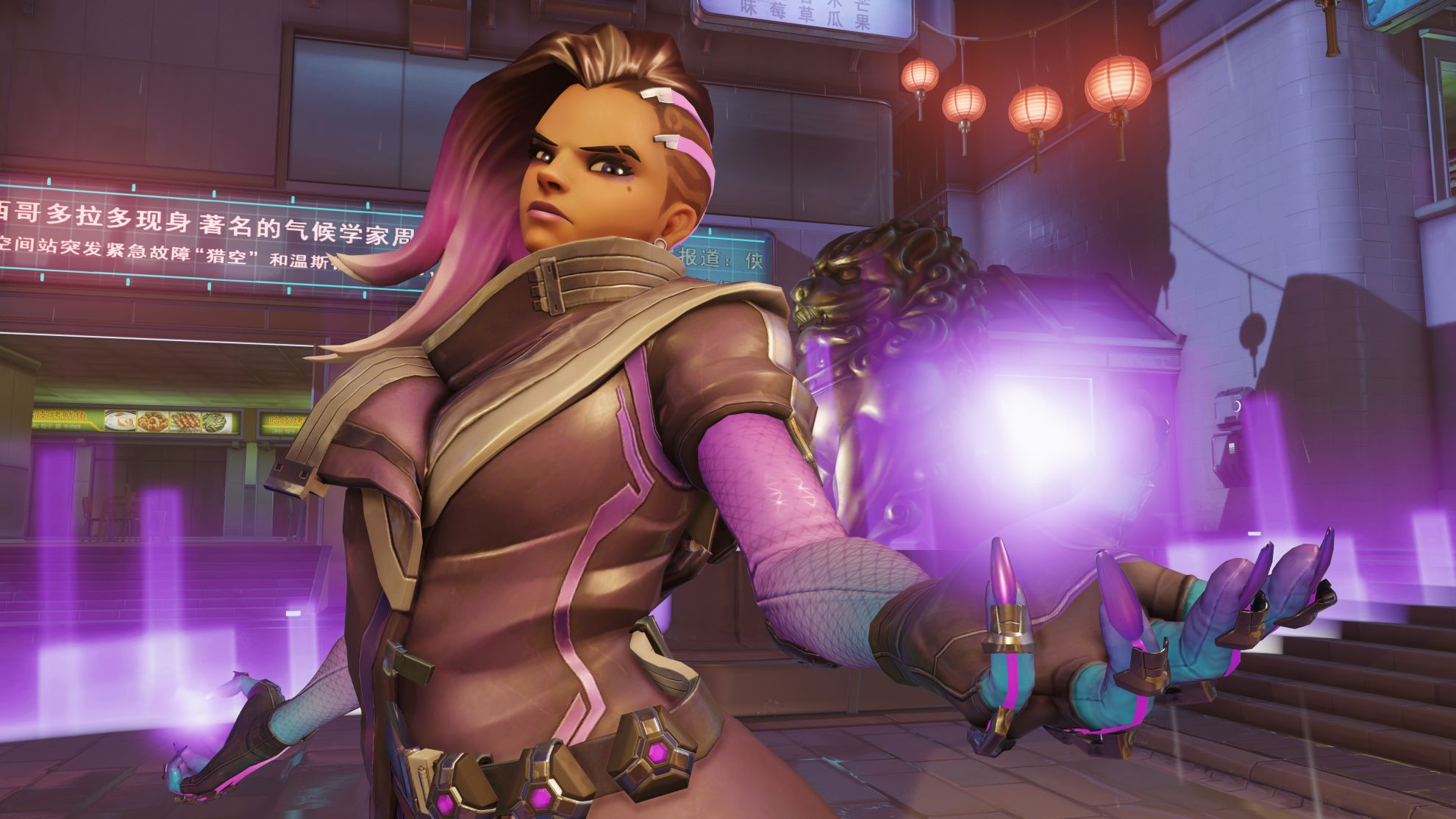 Overwatchs Sombra Comes To Street Fighter 5 Courtesy Of A New Mod VG247