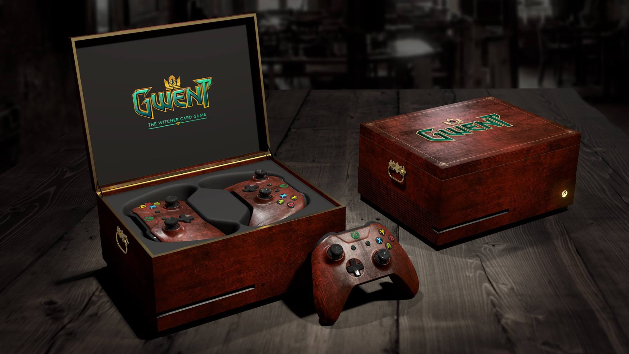 Gwent The Witcher Card Game Themed Xbox One Up For Grabs