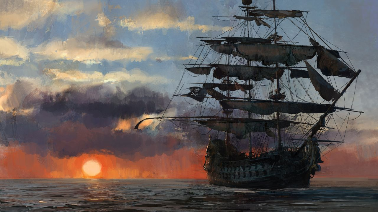 Skull And Bones Reveal Trailer Shows Off The Open World