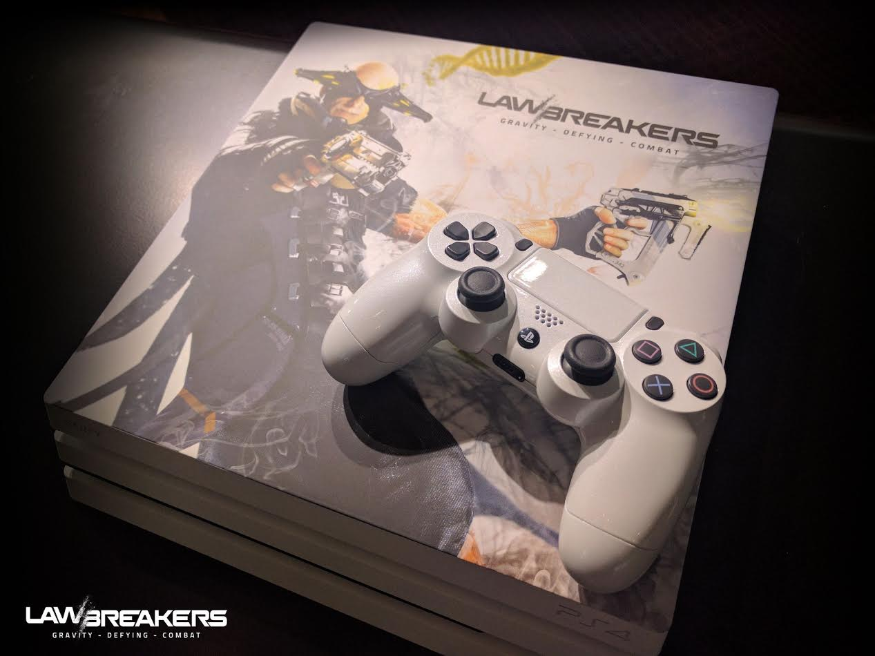 Win This Radballs Limited Edition LawBreakers PS4 Pro VG247