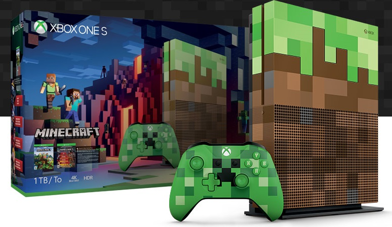 Less Sexy But Still Cool Minecraft Edition Xbox One S Is
