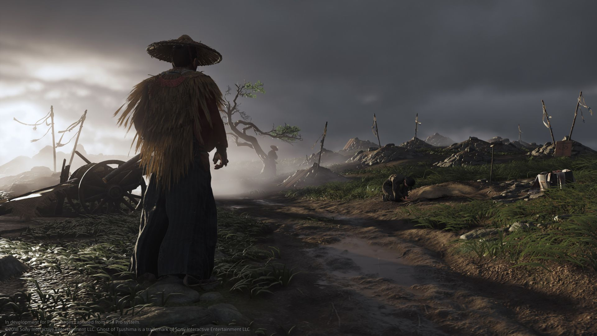 Ghost Of Tsushima Shows Bloody Combat In This First Look