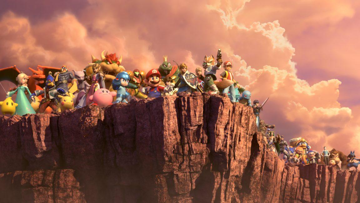 U Super Characters All Bros Wii Smash