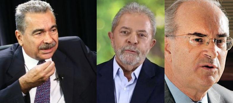 Nilso, Lula e Roberto Teixeira