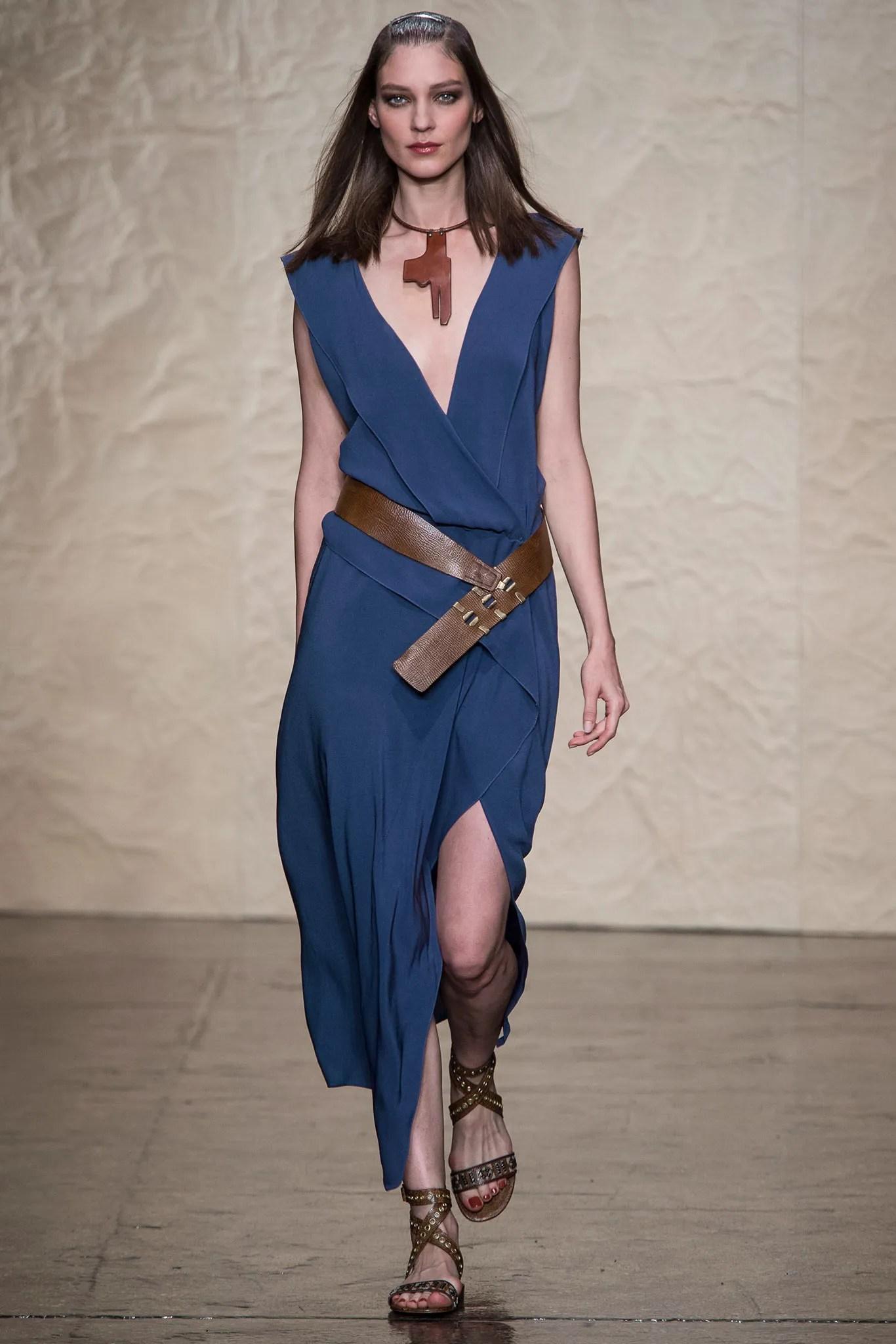 A dress from Donna Karan Spring 2014, the original for Vogue American Designer 1489 (2016)