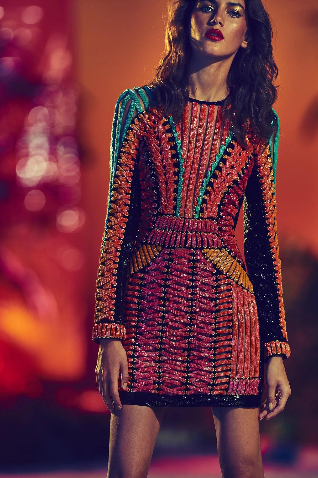 Balmain Resort spring/summer 2017 SS17 womenswear