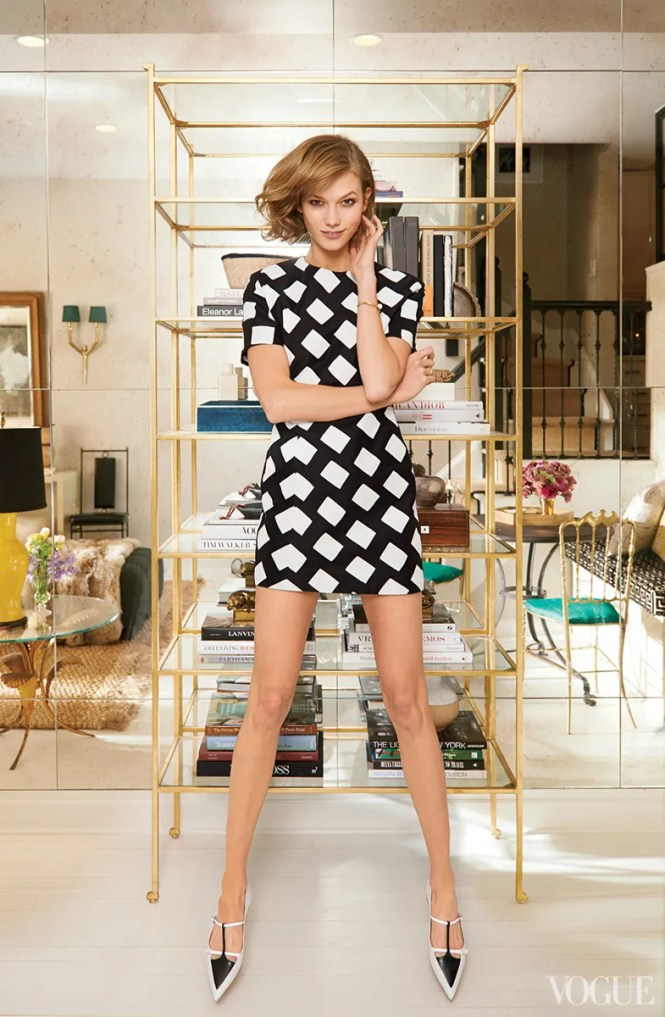 Supermodel Karlie Kloss Sets Up Her First Home In New York
