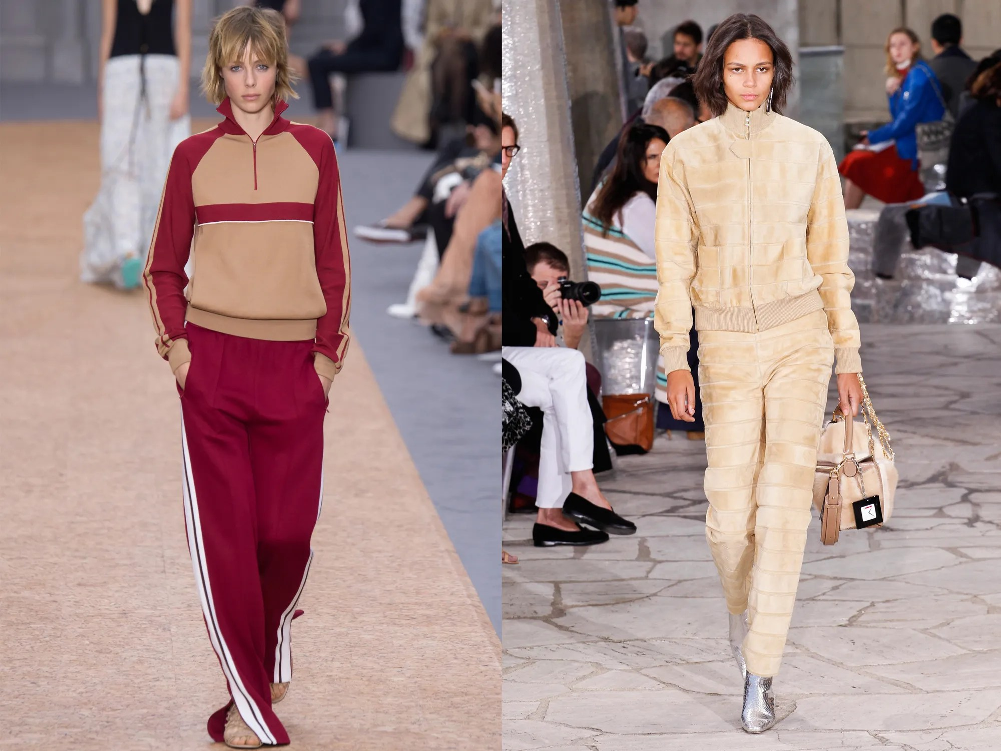 The Return of the Tracksuit for Spring 2016   Vogue