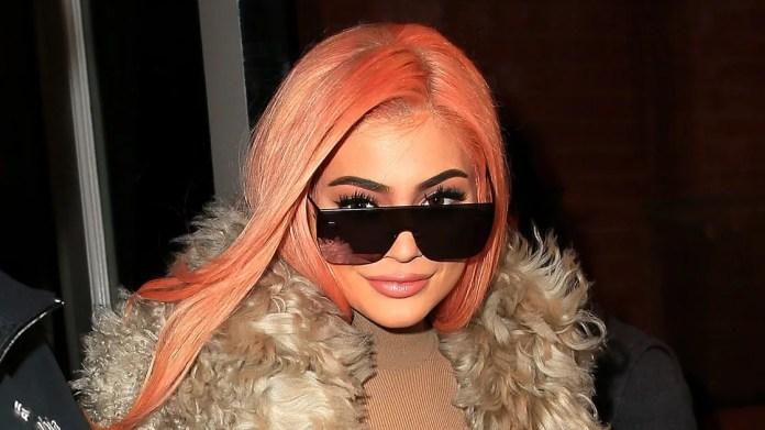 Image result for kylie in orange hair