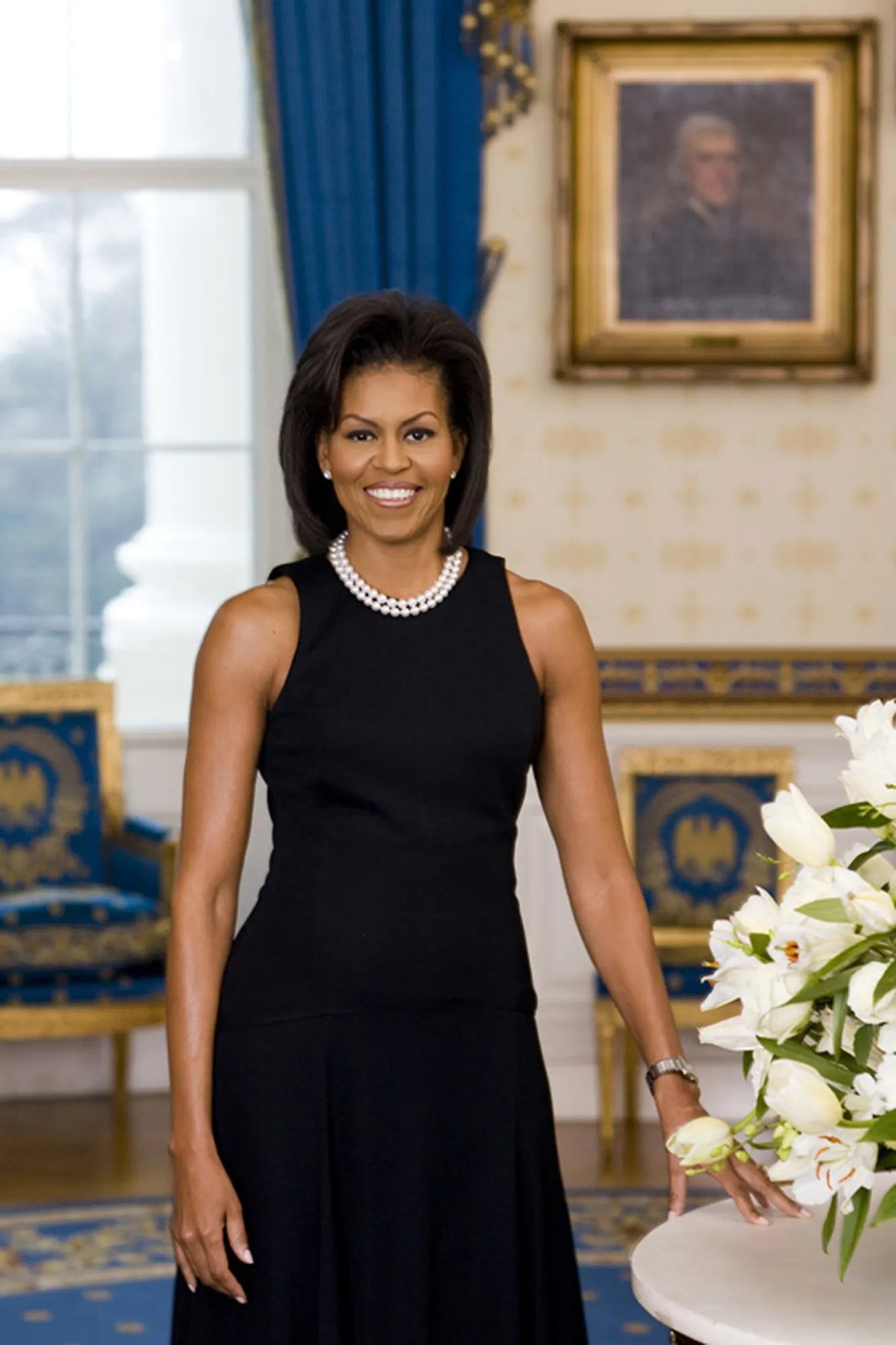 Image result for first lady portraits in white house