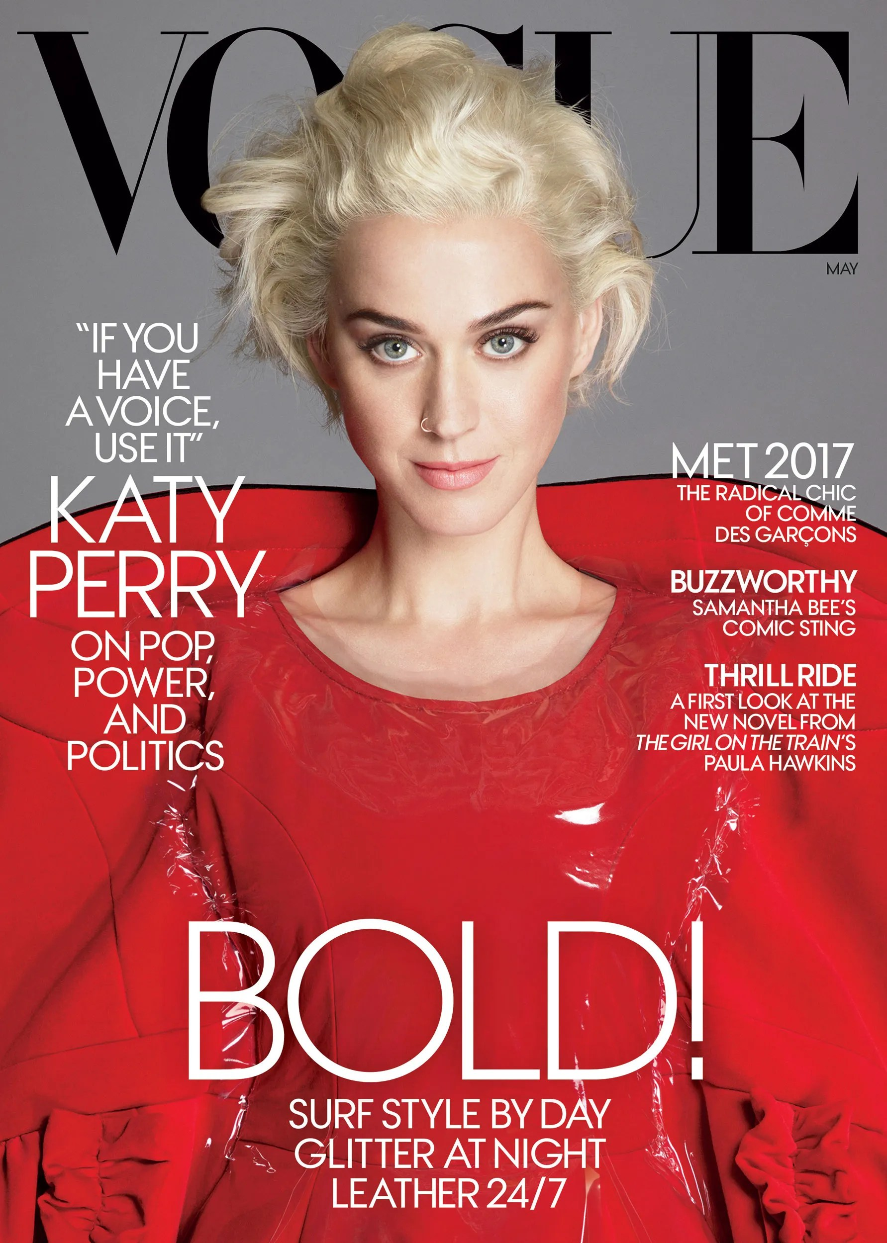 Image result for katy perry vogue cover may 2017