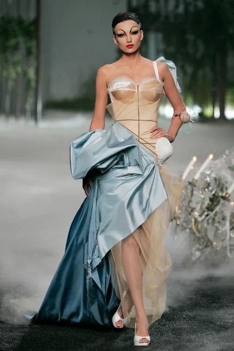Informative Image of John Galliano's Dior Haute Couture Show