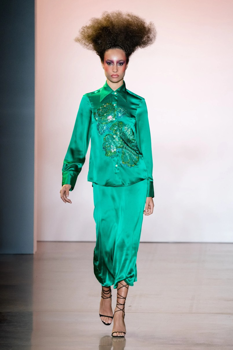 Неделя моды в Нью-Йорке: Christopher John Rogers S/S 2020