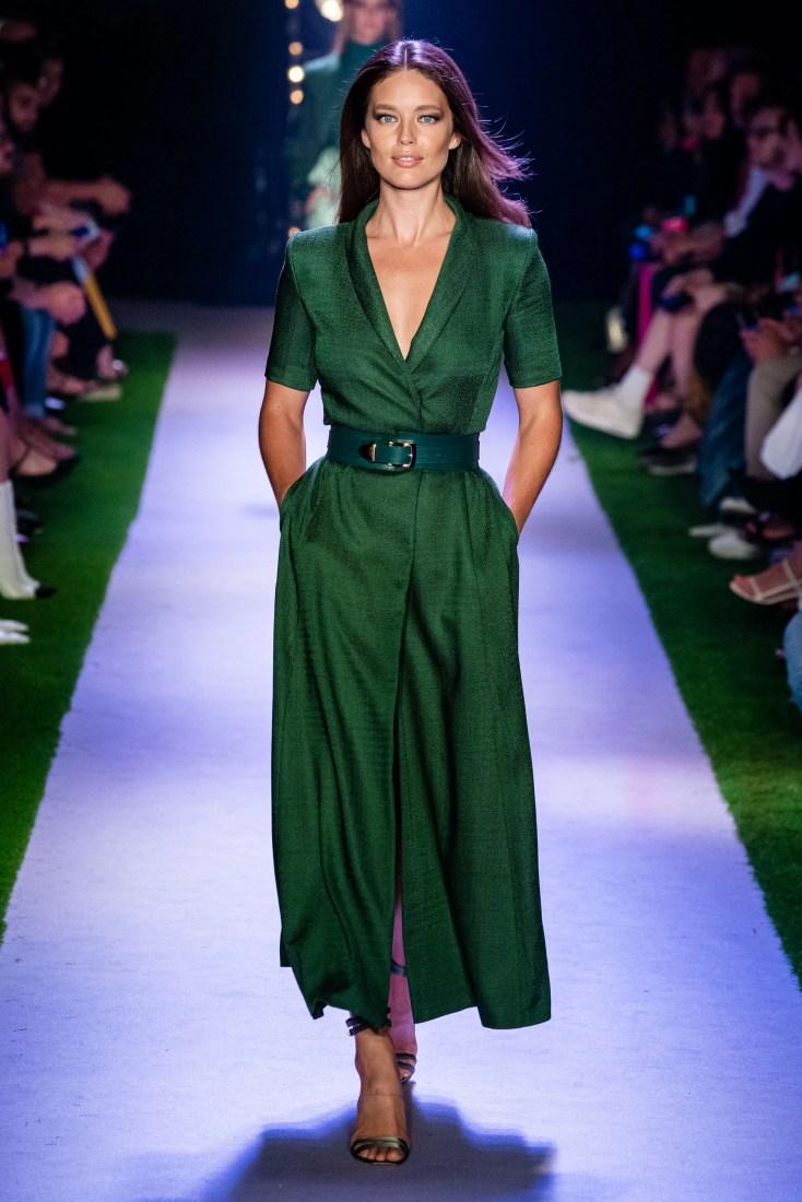 Неделя моды в Нью-Йорке: Brandon Maxwell весна-лето 2020