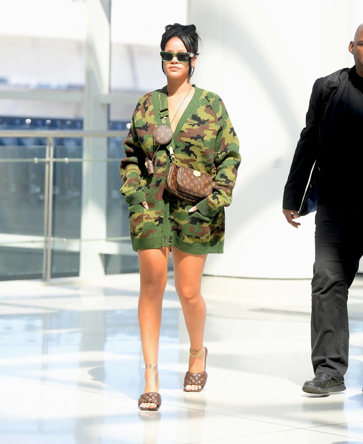 Rihanna Took NYFWs Hottest Street Style Shoe to the Airport
