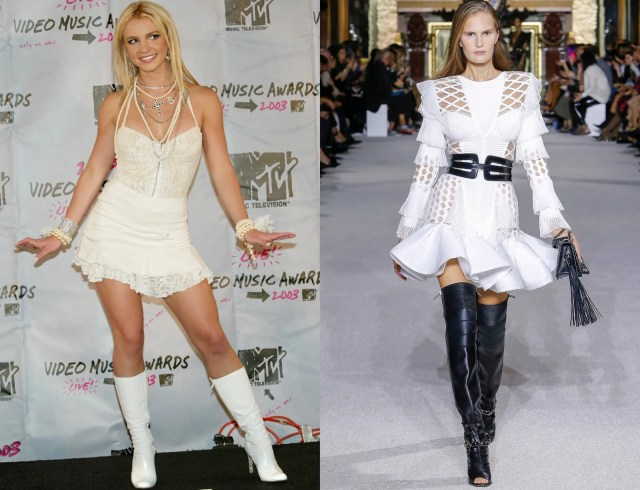 Image may contain Clothing Clothing Human Person Britney Spears Footwear Fashion and Shoes