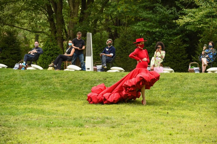 Image may contain Dance Pose Leisure Activities Human Person Grass Plant Performer Dance Food and Meal
