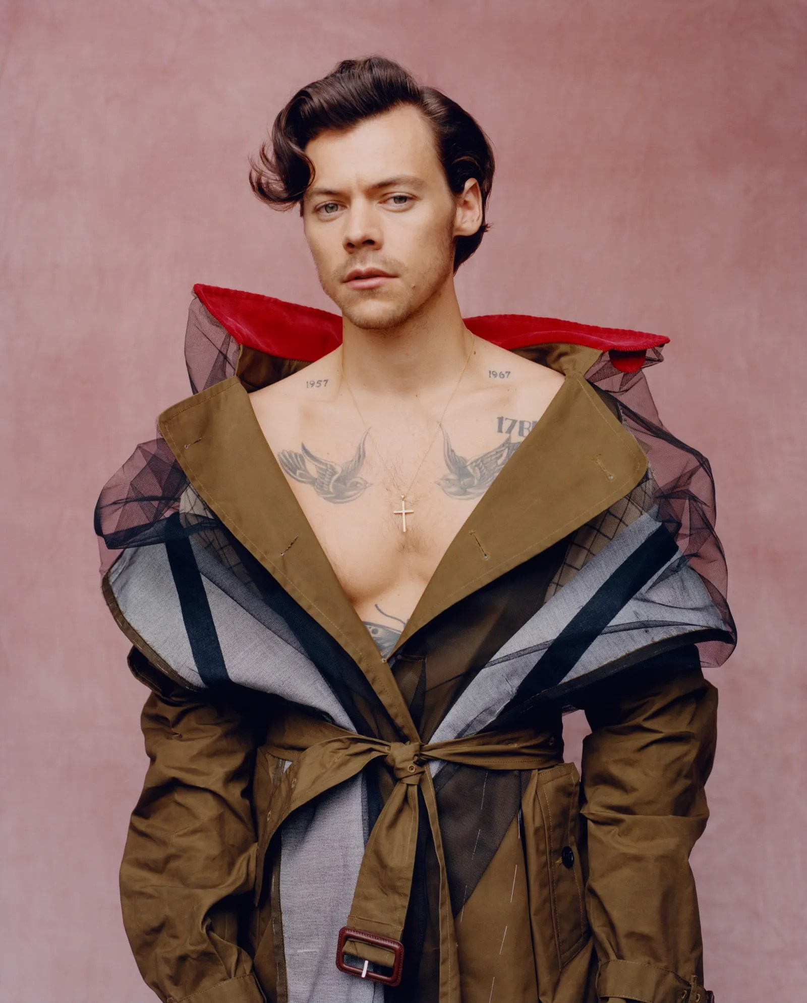 harry styles on dressing up making