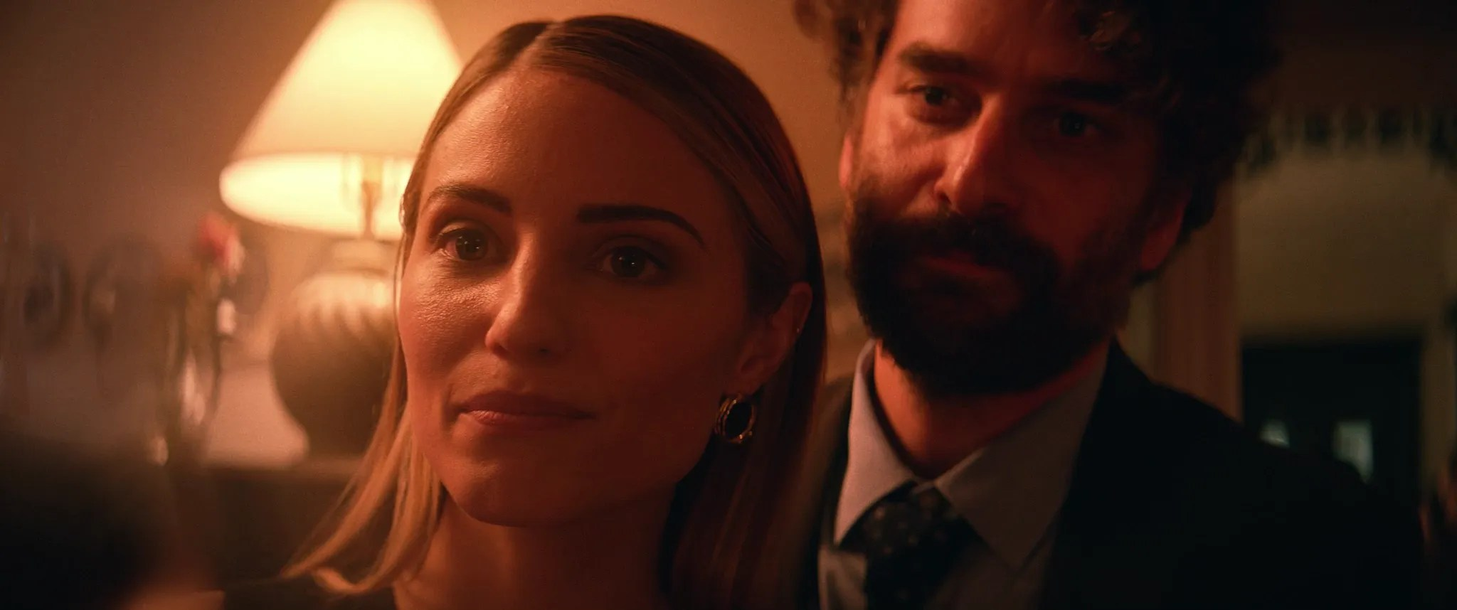 Shiva Baby Review - Dianna Agron and Danny Deferrari
