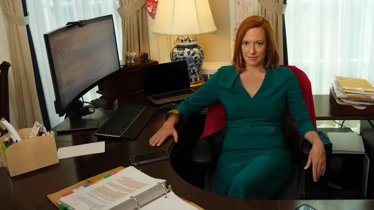 Jen Psaki Gregory Mecher : Press Secretary Jen Psaki Is Good At Mending Fences Just Don T Call Her Nice Vogue