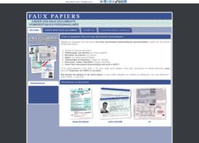 Faux Papiers Info At Wi Faux Papiers Humoristiques A Imprimer Creer Et Imprimer De Faux