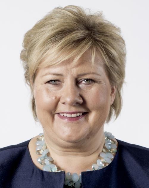 Erna Solberg - Contributeur de l'Agenda   Forum Économique Mondial