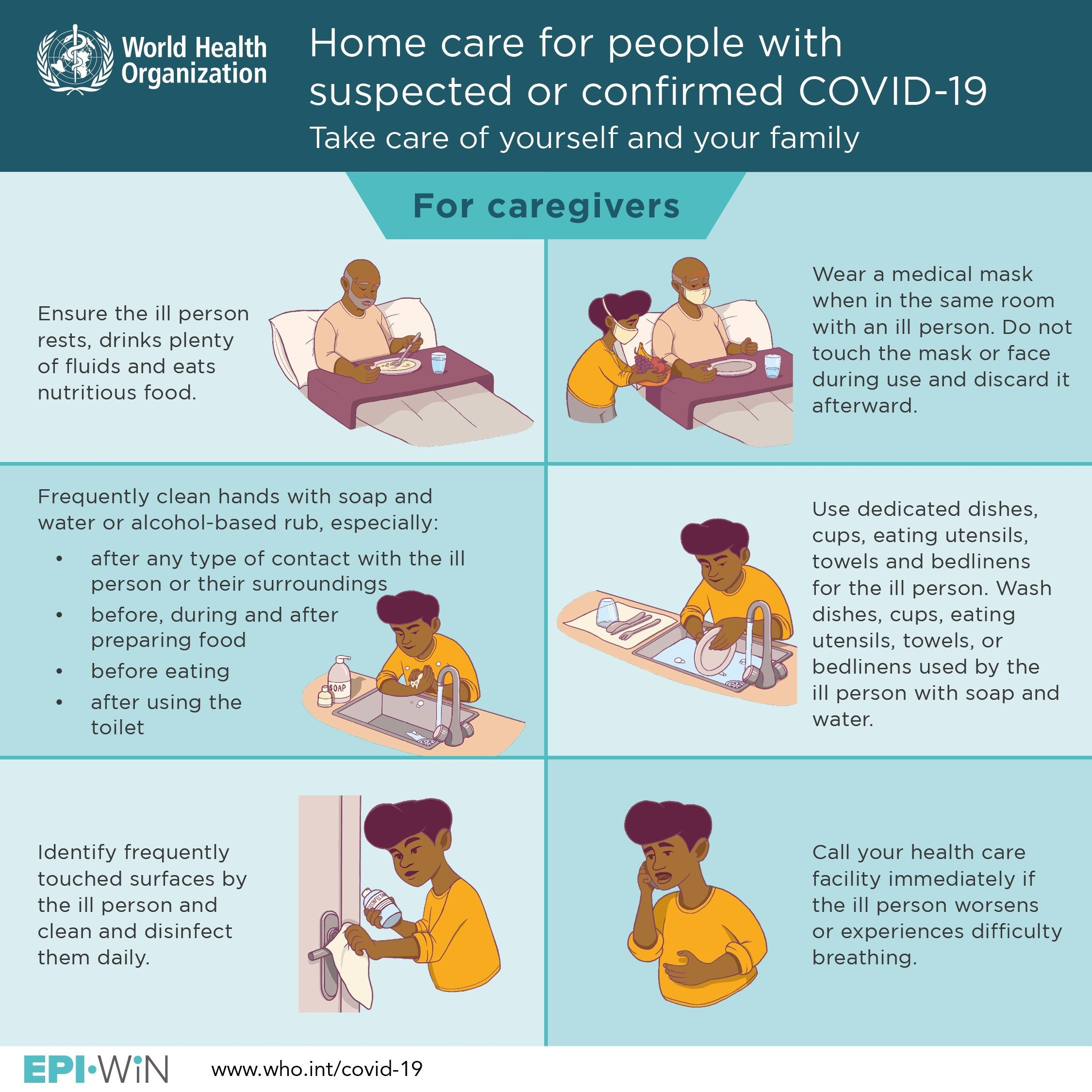 Caring For A Covid 19 Patient In Your Home