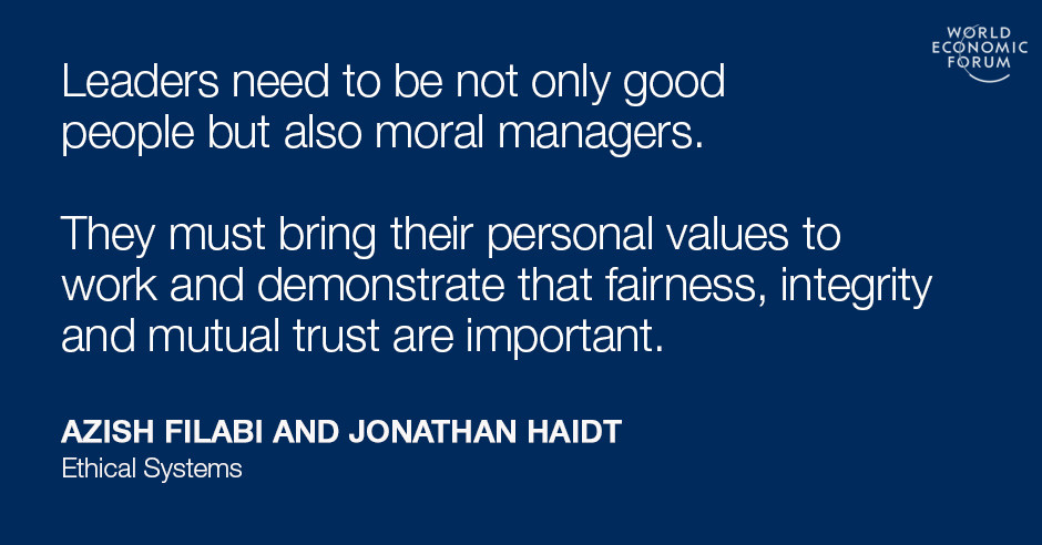 Ethical Systems Design What Smart Leaders Are Using To