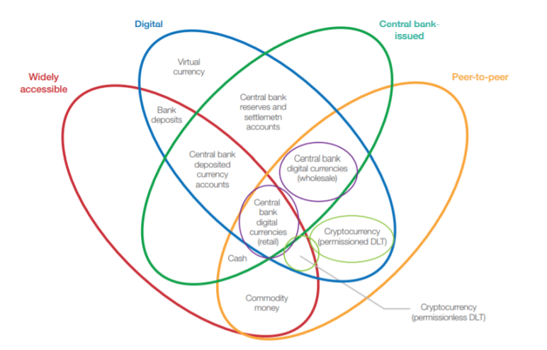 The money flower: a taxonomy of money