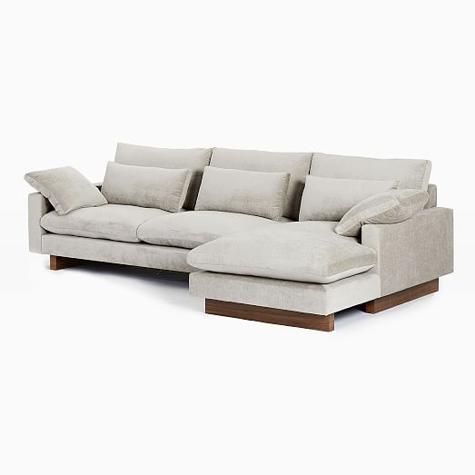 harmony 2 piece chaise sectional
