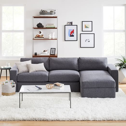 urban 2 piece chaise sectional