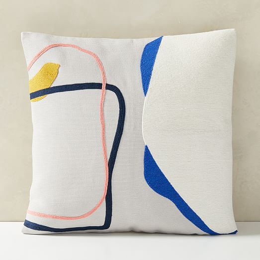 corded shapes pillow covers