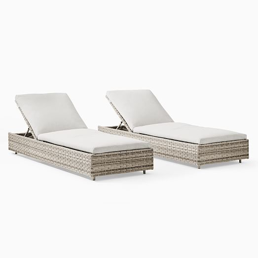 urban outdoor chaise lounger