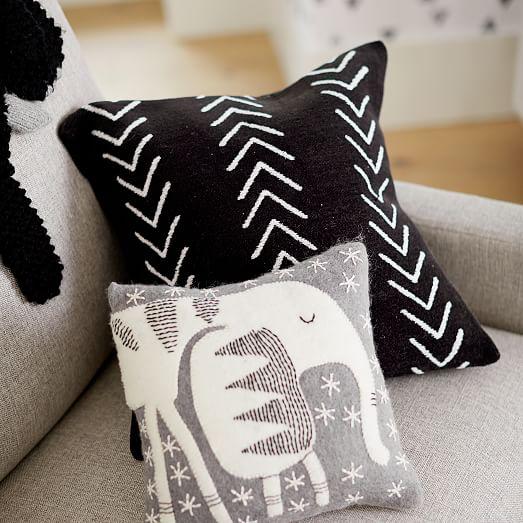 arrow nursery pillow cover