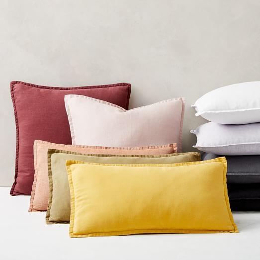 european flax linen pillow covers