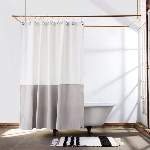 quiet town orient shower curtain driftwood