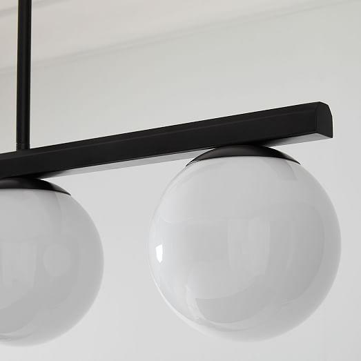 hayes linear chandelier