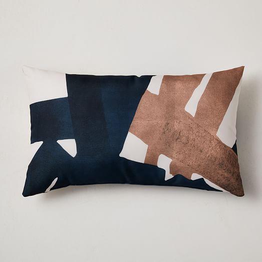 two tone indoor outdoor pillow set