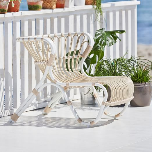 outdoor aluminum lounge chair