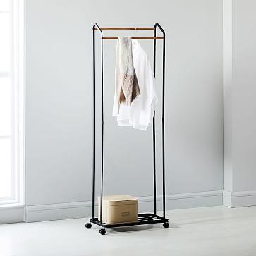 yamazaki rolling garment rack
