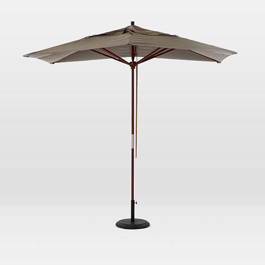 rectangle umbrella steel