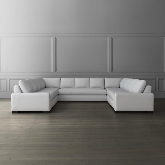 robertson 3 piece u shape sofa sectional